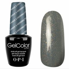 """Loving my new nail color! """"I Have A Herring Problem"""" by OPI. It's a perfect color for the Fall/Winter Season."""
