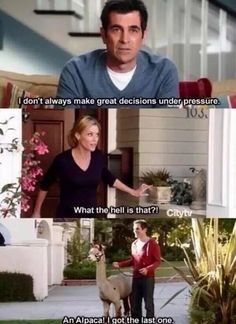 "When Phil was completely honest. | 21 ""Modern Family"" Moments That'll Make You Laugh Every Time"