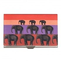 Elephant Stack Steel Card Holder by The Elephant Company
