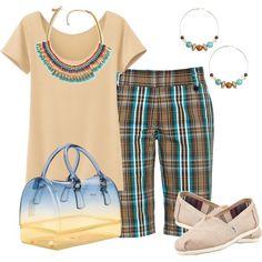 """Bermudas"" by outfits-de-moda2 on Polyvore"