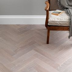 The soft grey tones of the Woodpecker Goodrich Feather Oak flooring add a touch of elegance to a room. Finished with a matt lacquer for the perfect subtle sheen, these planks can be laid as a single or double herringbone for a traditional look. Engineered Wood, Grey Flooring, Wood Floors, Engineered Wood Floors, Living Room Flooring, Hardwood Floors, Hallway Flooring, Natural Wood Flooring, Pale Wood