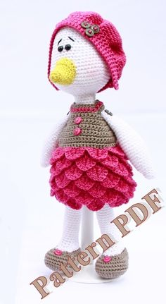 Pattern amigurumi Cane au crochet : Tutoriels de fabrication par marygurumi