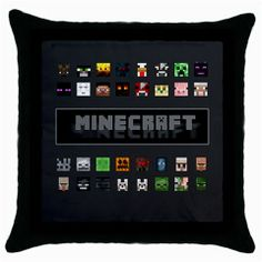 """Use this throw pillow case to bring the latest color trends and images into your living area or bedroom.  It measures about 18"""" x 18"""", can easily insert standard size pillows.  The border and the backing is in black color.  The zippered opening is designed for quick laundering.  The black..."""