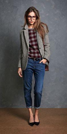 25 Ways to Wear a Blazer This Fall (22)