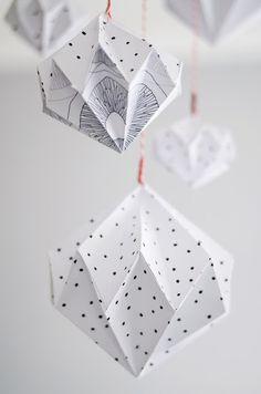 Origami Diamanten | s i n n e n r a u s c h