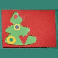 Minibiglietto Albero di Natale (cod. 1300)