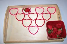 The Princess and the Tot: Valentine Trays