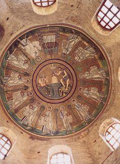 Baptisterio de los Arrianos, Rávena, finales sV