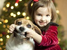 such a cute christmas picture if you had a dog that would allow it. :)
