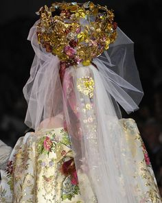 Christian Lacroix at Couture Fall 2007 - Details Runway Photos Christian Lacroix, Alexander Mcqueen, Lily Cole, Absolutely Fabulous, Couture Collection, Madonna, Flower Girl Dresses, Bride, Wedding Dresses