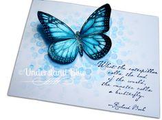 Blue Bokeh Butterfly