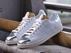 adidas stan smith punta argento