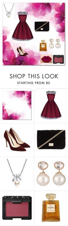 """Bez naslova #43"" by suadasuada ❤ liked on Polyvore featuring moda, Forever 21, MBLife.com, Samira 13, NARS Cosmetics e Chanel"