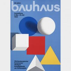 Herbert Bayer / Bauhaus Exhibition poster