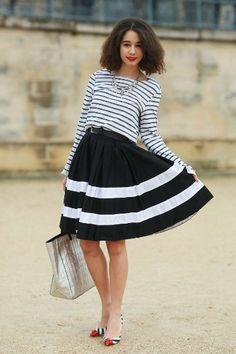Pretty Stripes on Stripes