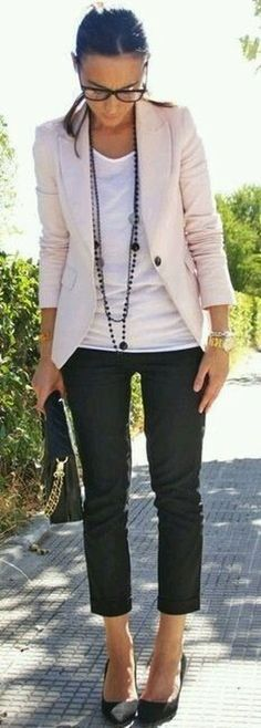 Awesome Summer Workwear Outfit Ideas 37