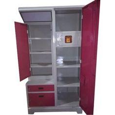Triple Door Stainless Steel Almirah, Height: 76 inch, Rs 11000 /piece | ID: 20038723273