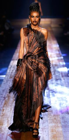 The 14 Unforgettable Gowns from Couture Fashion Week - Jean Paul Gaultier Couture from InStyle.com