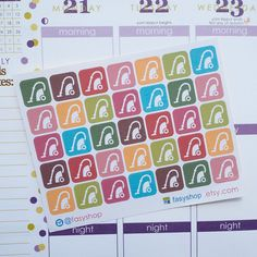 35 Vacuum Cleaners Sticker Planner  // Perfect for Erin Condren Life Planner by FasyShop on Etsy