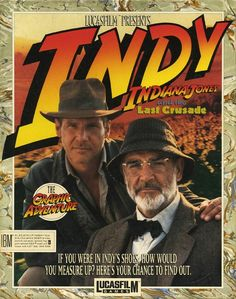 Indiana jones game cover