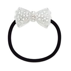 Your pony tail will be simply chic with this sparkling accessory featuring CZ's set in silver. Find it on Splendor Designs