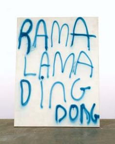 Rama Lama Ding Dong - Dan Colen hand-renders these works, creating the effect of aerosol through painstaking brush technique. Saatchi Gallery, Urban Poetry, Modern Art, Contemporary Art, Galleries In London, Ding Dong, Artist Profile, Urban Art, Art Blog