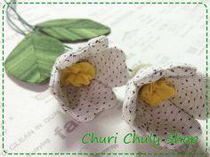 Fabric Flower....By Churi Chuly Shop