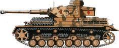 Africa . Panser IV F2 15`th Pz Div [ Tunesien - late 1942 ]