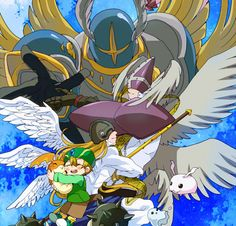 T.K. and the digivolutions of Patamon