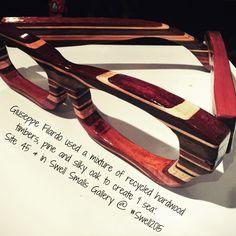 #GiuseppeFilardo #ISea #Swell2015 #SwellSmalls #glasses #wood #wherearemyglasses #sculpture #art #GoldCoast #australia #festival 11-20 Sept 2015 by swellsculpture