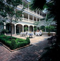 The Planter's Inn in Charleston, SC.  I love to stay here when I visit Charleston.