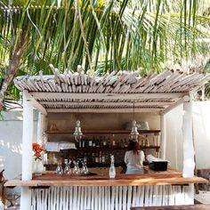 Love the beach bar