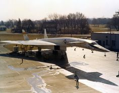 North American Aviation XB-70A-1-NA Valkyrie 62-0001 at Wright-Patterson Air Force Base, Ohio. (U.S. Air Force)