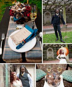Steampunk Wedding Theme | Steampunk Wedding Theme | Paper Moon Weddings