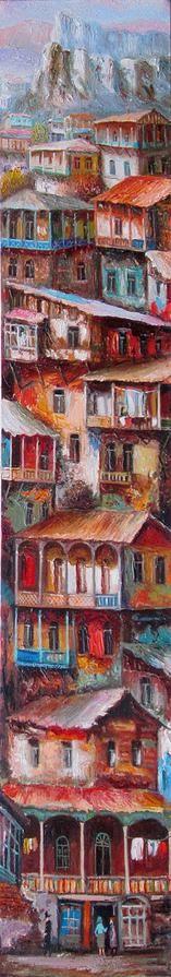 OLD TBILISI by Vakhtang Martiashvili (father)