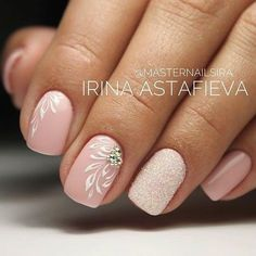 65 Beautiful Nail Art Designs The Effective Pictures We Offer You About simple wedding nails A quality picture can tell you many things. You can find the most beautiful pictures that can be presented Pink Nails, My Nails, Hair And Nails, Beautiful Nail Art, Gorgeous Nails, Beautiful Pictures, Cute Nails, Pretty Nails, Nagellack Design