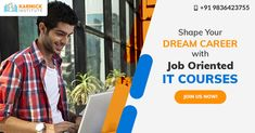 Want to get the dream job you have always wanted? It can be yours in no time! Enroll in our job oriented IT courses now. #ITCourses #ITTrainingCourses #JobOrientedCourses #ITTrainingInstitute Dream Career, Dream Job, Seo Digital Marketing, Career Opportunities, Training Courses, Dreaming Of You, Web Design, How To Get, Design Web
