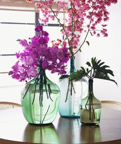 Radiant Orchid pair well with olive green, bright blue, and pale aqua