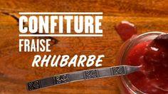 Confiture fraise et rhubarbe Quebec, Chutney, Sauce Salsa, Putting On The Ritz, Fruit Jam, Bento Box, Ketchup, Preserves, Strawberries