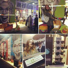 Continua il nostro giro al Mido... Siamo pazzi di @mad_in_italy #eyewear #eyewearfashion #mido #sunglasses #sunglassesshop #lasagnuz
