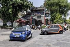 Numerosos detalles innovadores garantizan máxima diversión en la ciudad. La nueva generación de smart se presentará en Europa en noviembre de 2014.