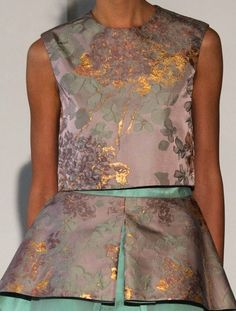 patternprints journal: PRINTS, PATTERNS AND TEXTILE SURFACES FROM HAUTE COUTURE CATWALKS (WOMENSWEAR S/S 2015) / Busardi