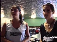 """Virginia Egusquiza y Marta Penas, jugadoras de hockey hierba en Rider University, en el programa """"Mama tu no mires"""""""