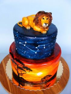 A Lion King cake? Winning.