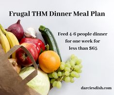 A week of frugal dinners that work the Trim Healthy Mama way of eating. This meal plan is FREE, printable and has a shopping list as well. Thm Recipes, Vegetarian Recipes, Dinner Recipes, Budget Recipes, Trim Healthy Mama, Slow Cooker Italian Beef, Mama Recipe, Keto Meal Plan, Good Fats