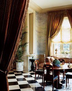Yves Saint Laurent home - Jacques Grange design