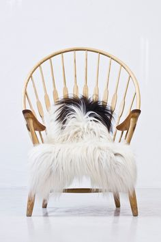 """""""Peacock chair"""" by Hans J. Wegner via modernisten. Click on the image to see more!"""