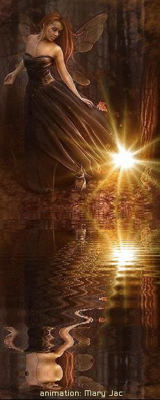 Hadas huyendo de la luz, se supone que las hadas son más pequeñas, pero bueno. [Gift Fantasy Art]