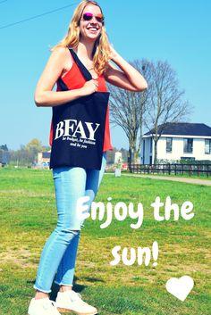 Enjoy the sun with my new bag van @bfaynl  !  #sun #enjoythesun #newbag #fashion #outfit #sunnyoutfit
