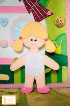 girl, heart hair clips, Velcro underwear